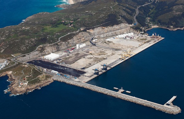 Porto exterior de Ferrol. Fonte: www.apfsc.com